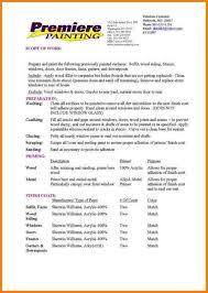 Sample Bid Proposal Template Contractor Proposal Template Template Business