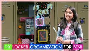 easy diy locker organization decor for back to school on custom locker decoration ideas craft how