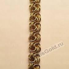 <b>Цепочка</b> и браслет <b>плетение Роза</b> - купить, фото, цена ...