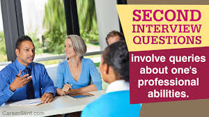 Questions For Second Interview Second Interview Questions