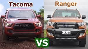 2018 Toyota Tacoma vs 2018 Ford Ranger   Pickup Auto Comparison ...