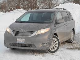 Test Drive: 2014 Toyota Sienna XLE AWD | The Daily Drive ...