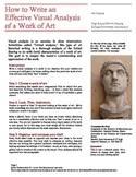 visual analysis formal analysis an art history essay example tpt product thumbnail acircmiddot visual analysis
