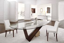oval glass dining table. oval glass dining room table with exemplary tables decoration ideas images