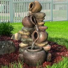 outdoor garden fountain. Lightweight Outdoor Fountains Garden Fountain T
