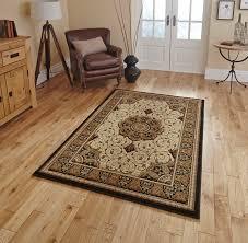 4400 black cream rugs