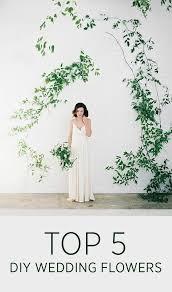 top 5 diy wedding flowers