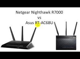 r7000 wifi routers networking home netgear r7000 nighthawk v asus rt ac68u