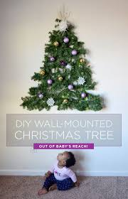 Best 25 Wall Christmas Tree Ideas On Pinterest  Alternative Christmas Trees That Hang On The Wall