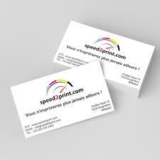 cartes des visites impression cartes de visite professionnelles speed2print