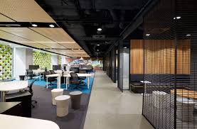 office hallway. Deka Immobilen Office - Local Hallway Techne Architecture + Interior Design Archive