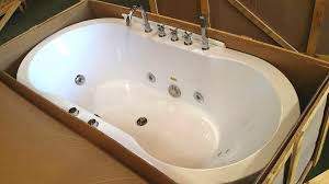 contemporary jetted bathtub in freestanding massage hydrotherapy indoor whirlpool ideas 5