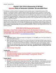 Instructor Sydney Brown English 124 Critical Reasoning