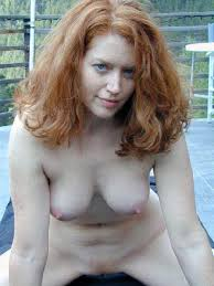 Sexy Redhead Old Women Nude