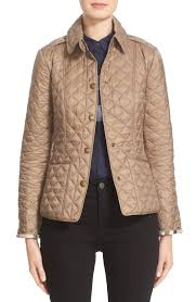 Burberry Brit 'Kencott' Patch Pocket Quilted Coat   Nordstrom & Main Image - Burberry Brit 'Kencott' Patch Pocket Quilted Coat Adamdwight.com