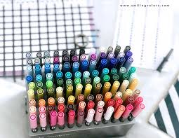 Tombow Dual Brush Pen Color Chart With All 108 Colors