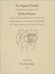 pablo picasso s tender illustrations for aristophanes lysistrata  picasso proofs