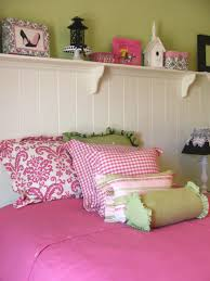 Pink Bedroom Awesome Pink And Green Bedroom Ideas For Girl Room With Wall