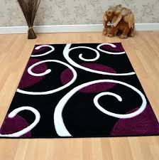 purple and black rug purple and white area rugs best images on chairs colors purple grey