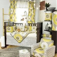 image of girl nursery bedding yellow