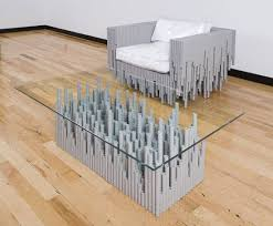 artistic furniture. Amazing And Artistic Furniture Designed From Recycled PVC! C