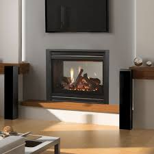 heat glo see through st36 gas fireplace