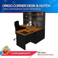 ebay office desks. Image Is Loading Corner-Workstation-Office-Desk-with-Hutch-Computer-Study- Ebay Office Desks