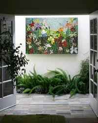 mosaic wall art stained glass wall