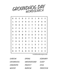 Collections of Groundhog Day Printable Worksheets, - Easy ...