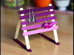 DIY - Craft Shelve Jewelry Cute For Baby Girl Using Popsicle Stick - Craft  For Kid. Easy Make Everything