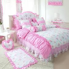 pink ruffle bedding pink ruffle bedding queen light pink ruffle twin bedding
