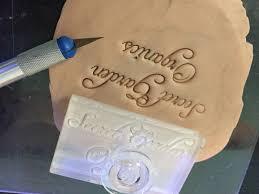 custom hard acrylic soap stamp laser cut fabrication nyc