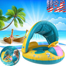 2018 BABY Swim Ring Inflatable Toddler Float Swimming Pool Water
