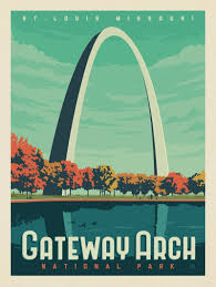 Arch Framing And Design St Louis Anderson Design Group 61 American National Parks Gateway