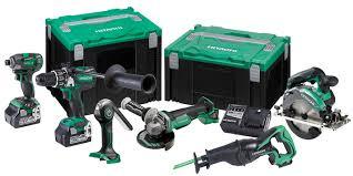 hitachi tool set. hitachi 18v 6-tool trade kit tool set