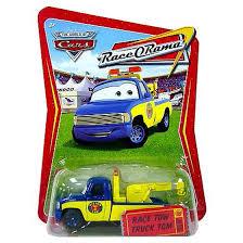 Disney Cars Race-O-Rama Race Tow Truck Tom Diecast Car - Walmart.com