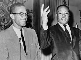 malcolm x muses it men the red list malcolm x and martin luther king ca 1964