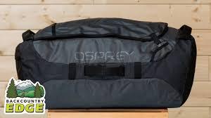 Osprey Transporter 95 Duffel - YouTube