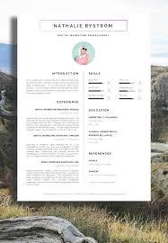 Marketing Resume Template Creative Marketing Resume Templates Menu and Resume 28