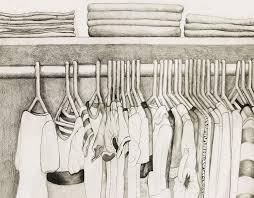 how to draw a closet how to draw a closet with clothes home design ideas