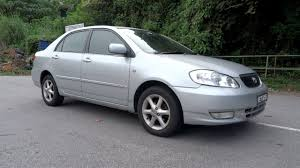 2001 Toyota Corolla Altis 1.8 G Start-Up and Full Vehicle Tour ...