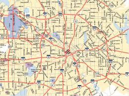 dallas city map  texas psychological association