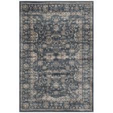 safavieh vintage dark blue cream 4 ft x 6 ft area rug
