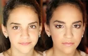 8th grade dance formal makeup tutorial