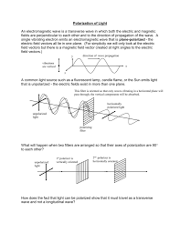 Polarization Of Light Physics Ppt Part V Polarization Of Light