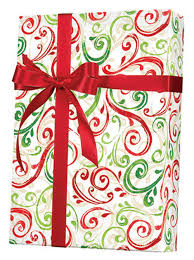 Small Picture Christmas Gift Wrap Paper Christmas Swirl Gift Wrap X5503 C