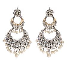 crystal and pearl stunning chandelier earrings m03136 e01