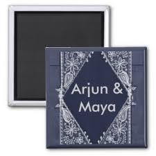 dark blue india design customized magnet