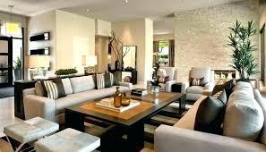 Decorating Rectangular Living Room Model New Inspiration Design