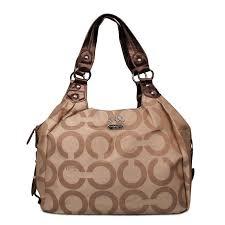 ... coach legacy logo signature medium brown hobo enr clearance sale outlet